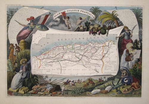 Lemercier / Levasseur  Algerie, Colonie Francaise
