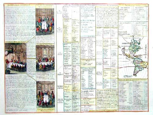 Chatelain Henri Abraham Carte du gouvernement de L´Amerique