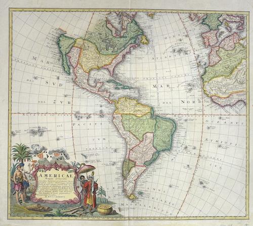 Homann Erben  Americae Mappa generalis