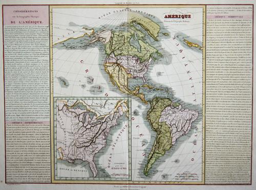 Barriere I. Amerique elements de Geographie moderne / Supplement pour les États Unis