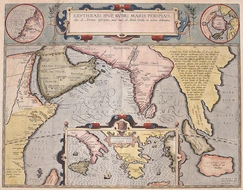 Ortelius Abraham Erythraei sive Rubri Maris Periplus…