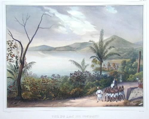 Lemercier / Levasseur  Vue du Lac de Tondamo (Ile Celebes)