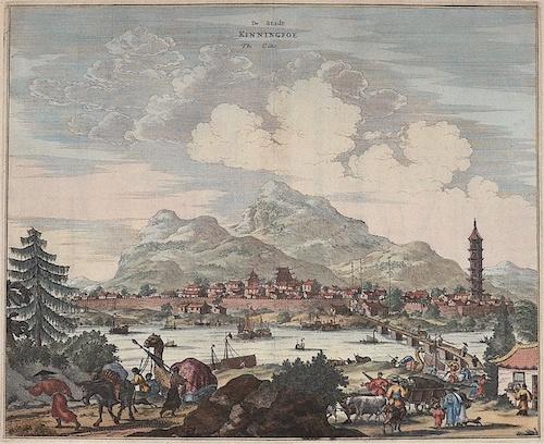 Montanus Arnoldus Die Stadt Kinningfoe/ the citie
