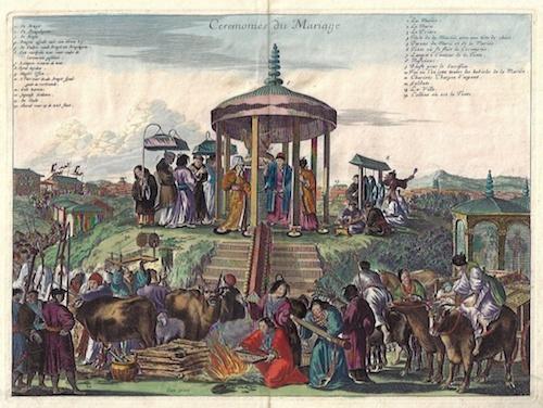 Montanus Arnoldus Ceremonies du mariage