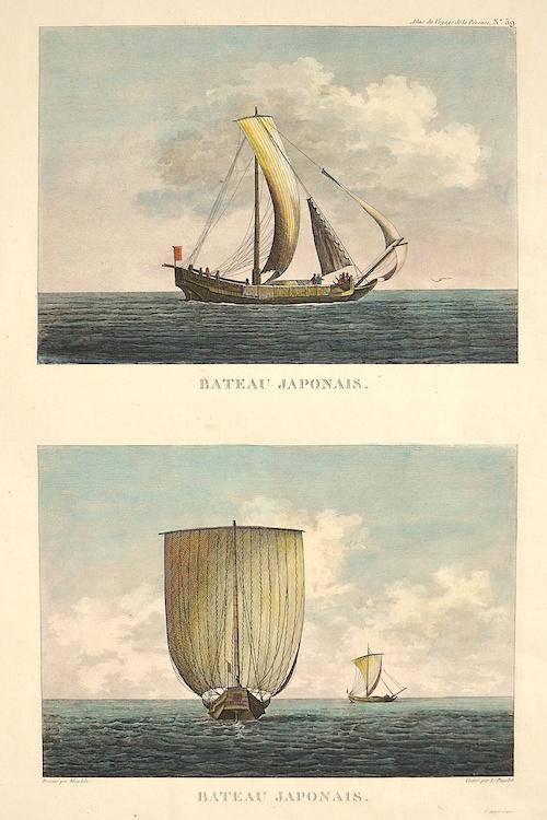 Pérouse, la Jean Francois Bateau Japaonais
