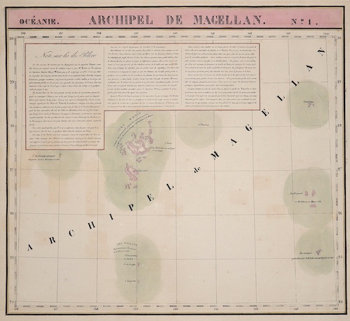 Vandermaelen Philippe Marie Archipel de Magellan No. 1