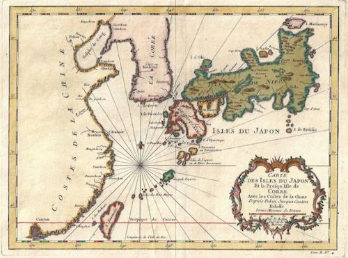Bellin Jacques Nicolas Carte des Isles du Japon…