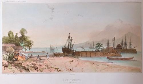 Lemercier / Levasseur  Rade D'Amboine (Ile Moluques.)