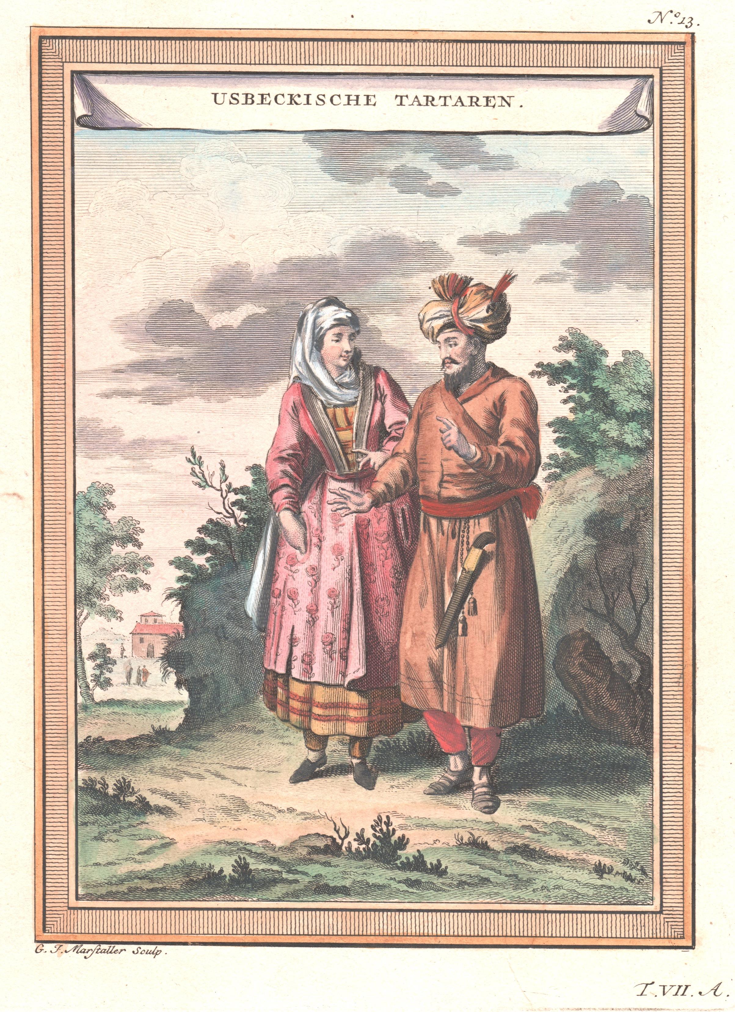 Marstaller G.F. Usbeckische Tartaren