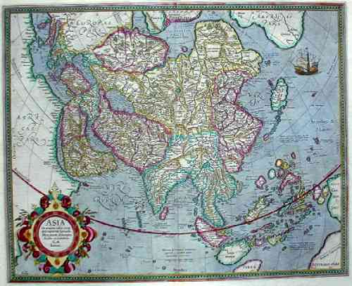Mercator Gehard Asia