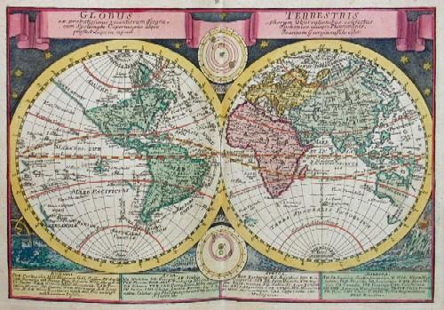 Schreiber Johann Georg Atlas selectus von allen Königreichen und Ländern der Welt, zum bequemen Gebrauch in Schulen, auf Reisen und bey dem Lesen der Zeitungen