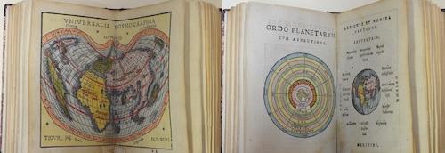 Honter Johann Georg Rudimentorum Cosmographicorum Joan Honteri Coronensis libri III. com tabellis Geographicis elegantissimis