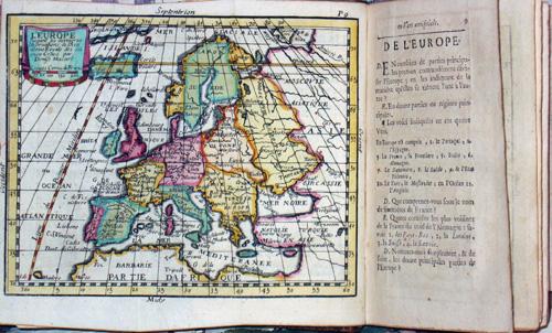 Giffart Pierre- Francois Geographie Universelle exposee dans les diferentes methodes qui poivent abreger l´edude u. faxilieer L´usage de cette fience