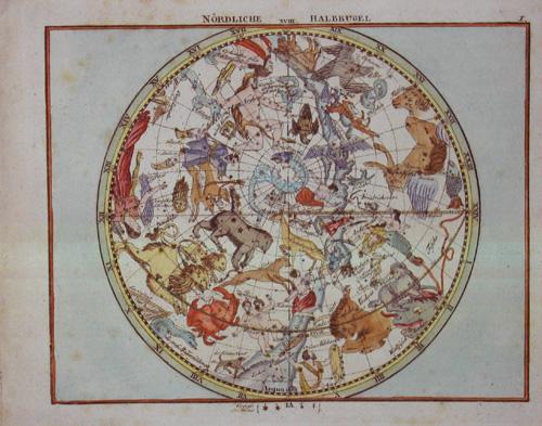 Goldbach C.F. Neuester Himmels-Atlas