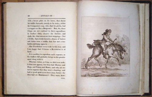 Nicholson  Academy for grown horsemen, containing the completest instructions for walking, trotting, cantering, galloping, stumpling and tumbling….