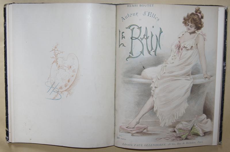 Boutet H. Henri Boutet- Autour d´ Elles II Les Modelles/ Le Bain