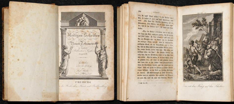 Schuler Carl Die Heiligen Schriften des Neuen Testaments in hundert Biblischen Kupfern dargestellt
