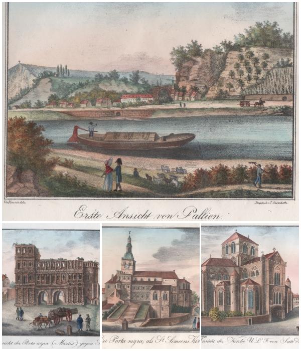Susenbeth J. Trier's Alterthümer und Umgebungen in 22 Pittoresken Ansichten