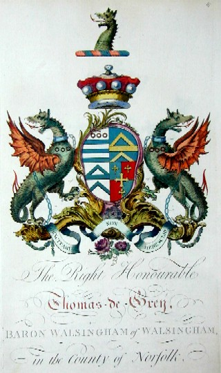 Edmondson J. The Right Honourable Thomas-de-Grey Baron Walsingham of Walsingham in the county of Norfolk