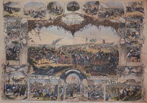 Brockhaus F.A. Gedenkblatt zur fünfzigjährigen Jubelfeier der Völker Schlacht bei Leipzig 1863