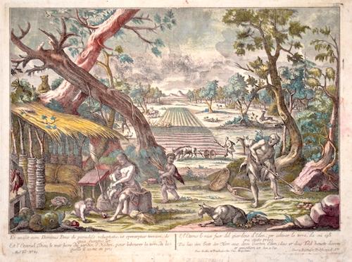 Probst Georg Balthasar Et emisit eum Dominus Deus de paradiso voluptatis, ut operaretur terram, de qua sumtus est.