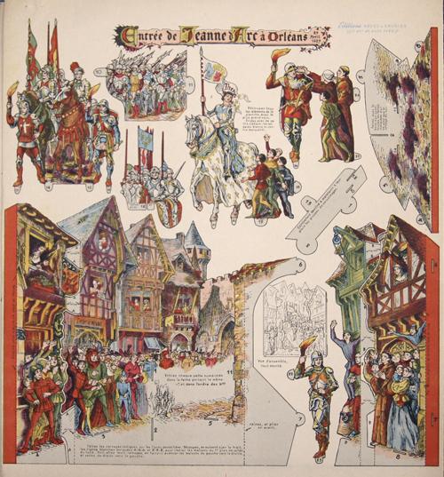 Anonymus  Entrée de Jeanne d'Arc à Orléans 29 Avril 1429