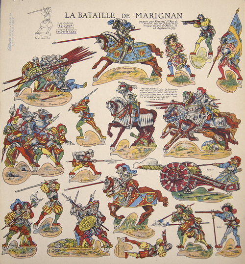 Anonymus  La Bataille de Marignan