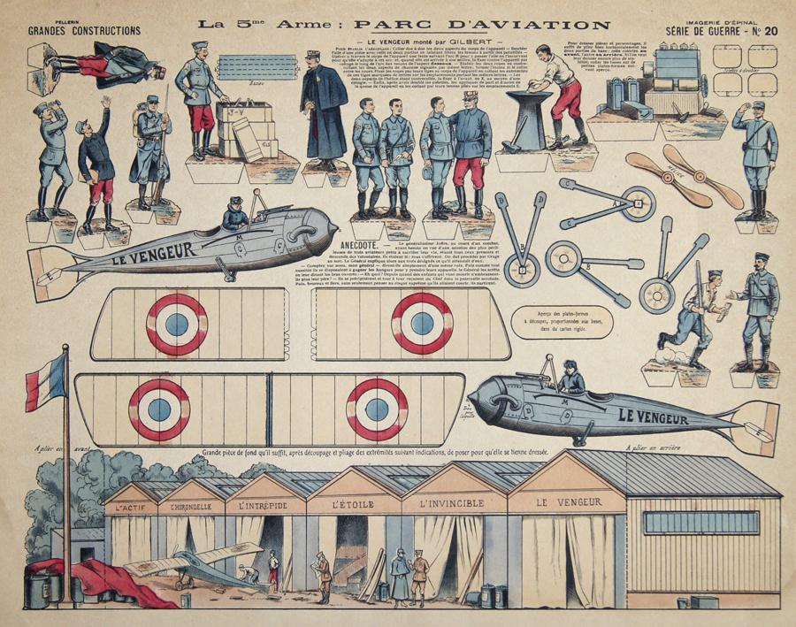 Anonymus  La 5me Arme: Parc D'Aviation