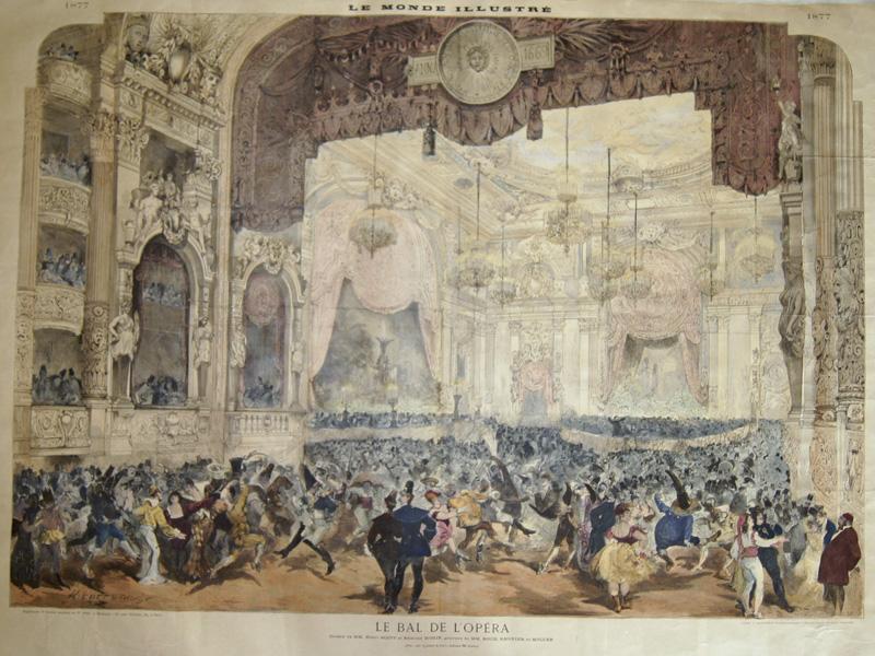 Roch/Moller Regnier Le Bal de L'Opera / Le Monde Illustre