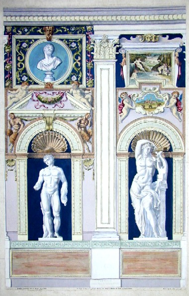 Carraccius Annibal Tabula II simstrae faciei Farnesianae Posticus