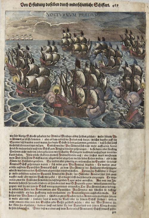 Bry, de Johann Israel & Johann Theodor Von Erfindung derselben durch underschiedliche Schiffart/ Nocturnum Prealium