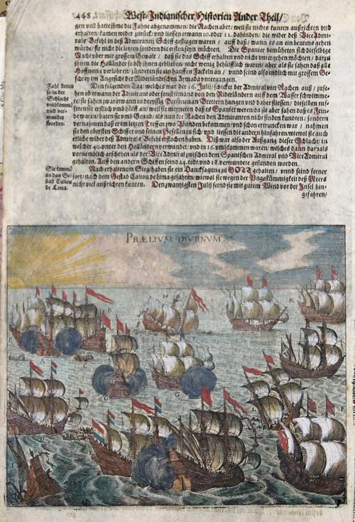 Bry, de Theodor, Dietrich West-Indianischer Historien Ander Theil. Praelium Diurnum. Nocturnum Praelium.