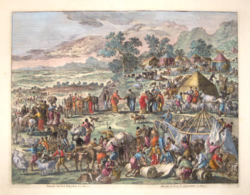 Covens/ Mortier Jean/ Corneille Abraham & Lot se separant