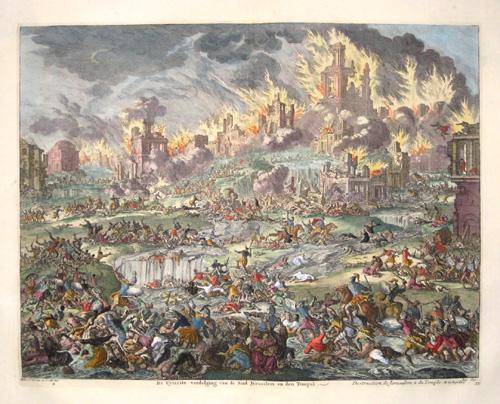 Covens/ Mortier Jean/ Corneille Destruction de Jerusalem & du Temple