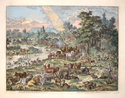 Covens/ Mortier Jean/ Corneille Adam donne les noms a tous les animaux