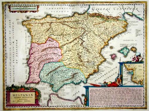Goos  Hispaniae veteris descriptio