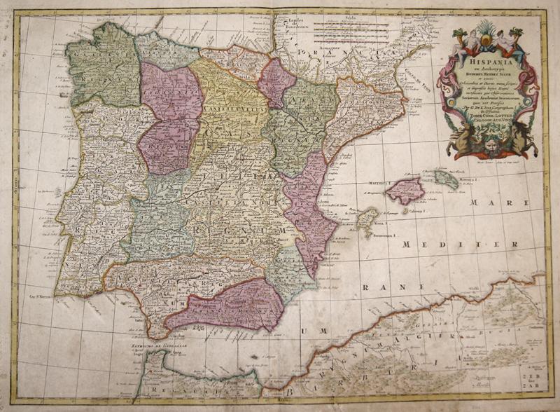 Lotter  Hispania ex Archetypo Roderici Mendez Sylvae..