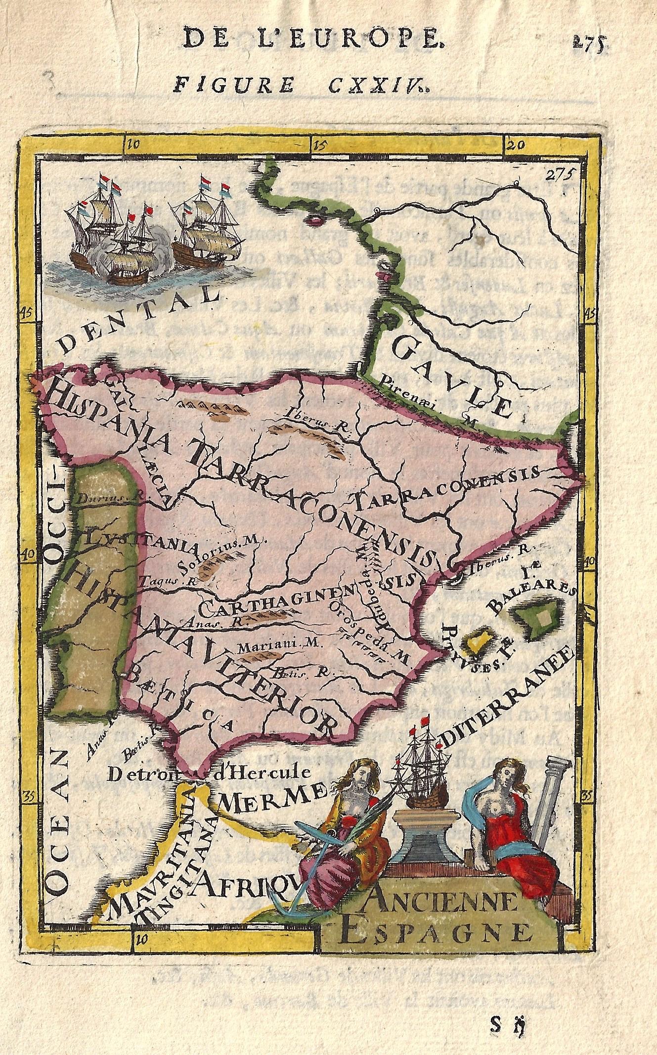 Mallet  Ancienne Espagne