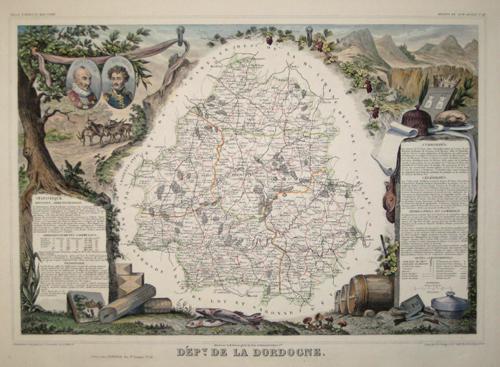 Lemercier / Levasseur  Departement de la Dordogne