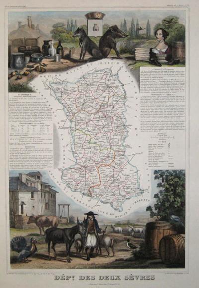 Lemercier / Levasseur  Departement de Sevres