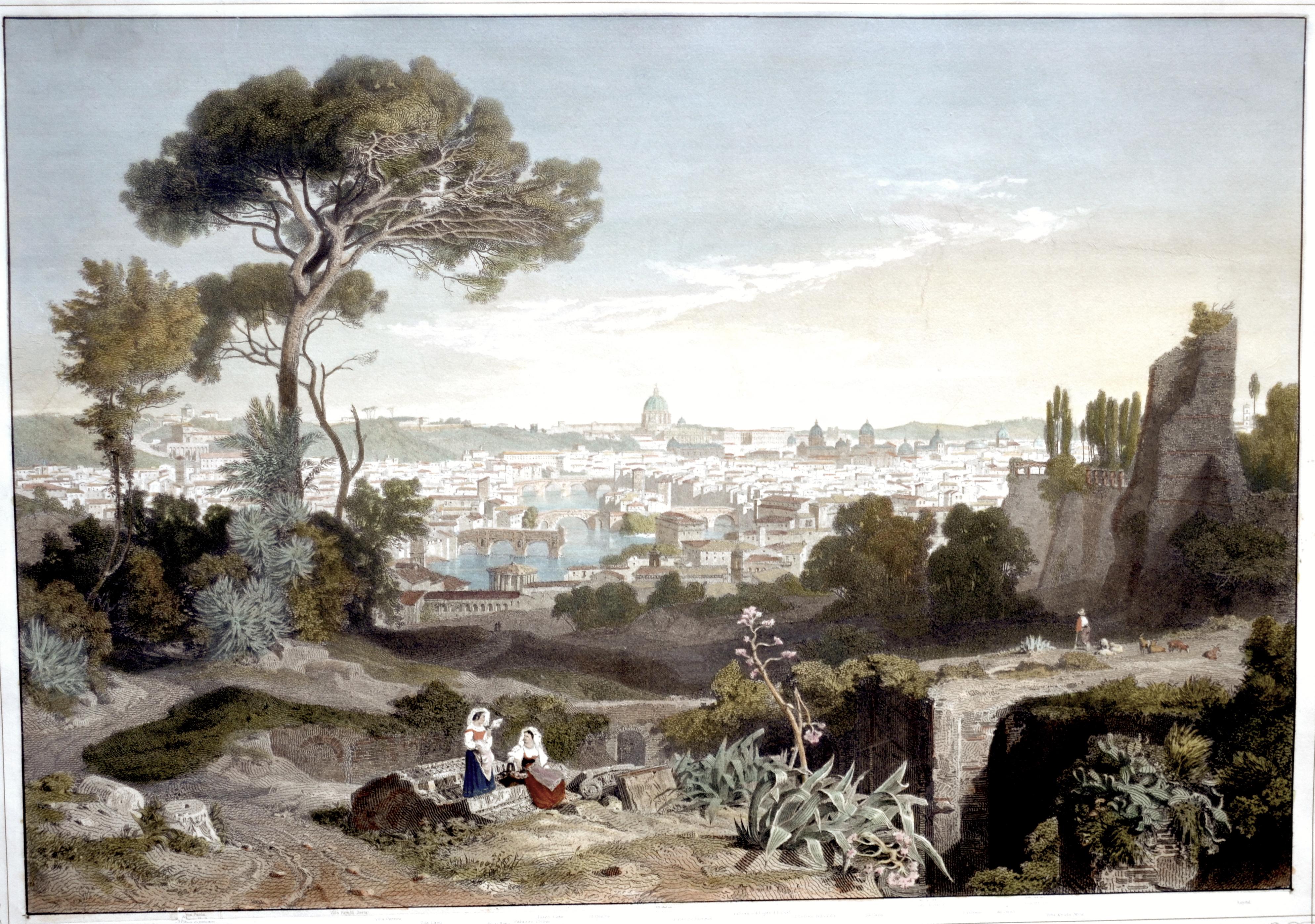 Lindemann- Frommel Carl Rom im Jahre 1847. Aus dem König-Ludwigs-Album.