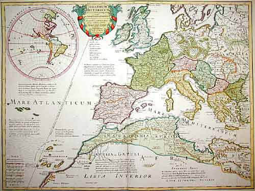 L´Isle, de /Covens & Mortier  Theatrum Historicum ad annum Christi quadringentisimu in quotum Imperii Romani…