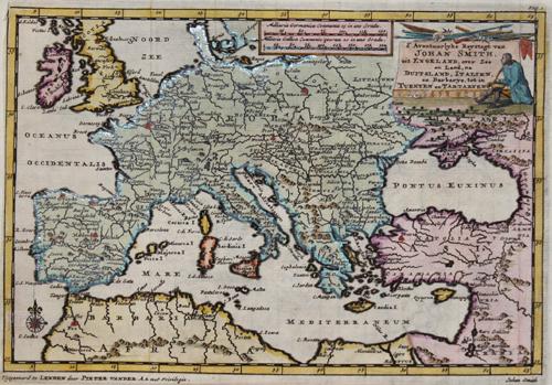 Aa, van der  D´ Avontuurlyke Reystogt van Johan Smith, uit Engeland, over Zee en Land, na Duitsland, Italien en Barbarye tot in Turkyen en Tartaryen….