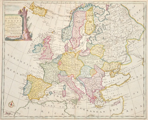 Bowen Emanuel A new and accurate map of Europe. Collected from the best Authorities,..