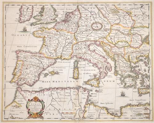 Janssonius  Lumen Historiarum per Occidentem ex conatibus Fran. Haraei Antuerpiae.