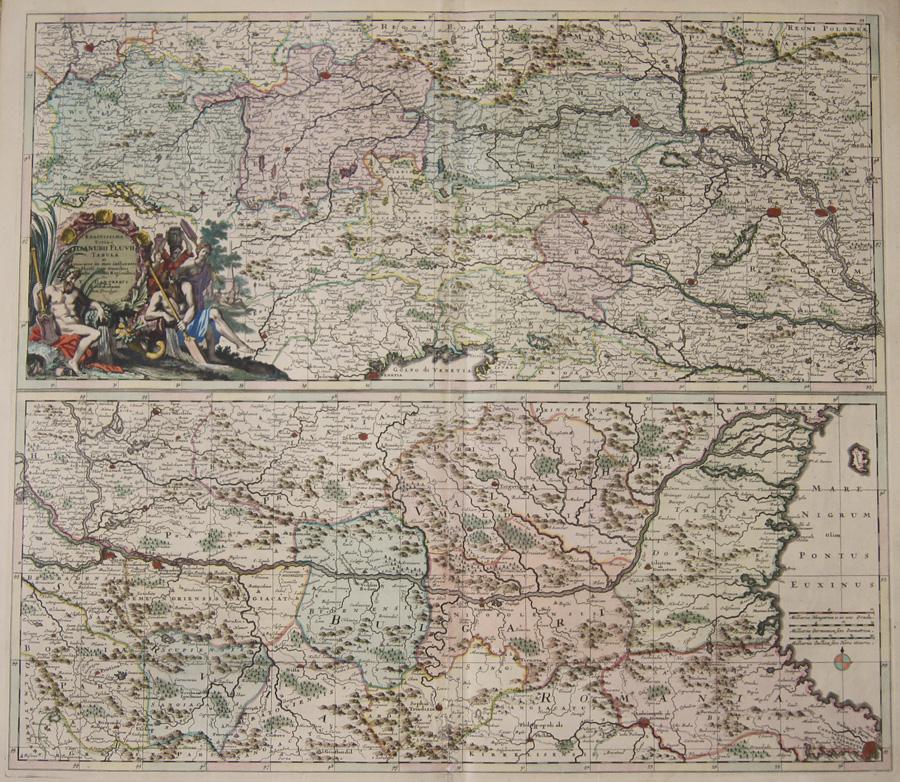 Danckerts Theodorus Exactissima Totius Danubii Fluvii Tabula et…