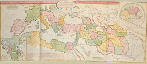 Vaugondy, de  Partie Occidentale de la Carte des Anciennes Monarchies. / Partie Orientale de la Carte des Anciennes Monarchies.