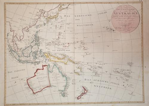 Reinecke M. General Charte Australien