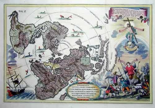 Scherer Heinrich Repraesentatio Totius Orbis Terra…