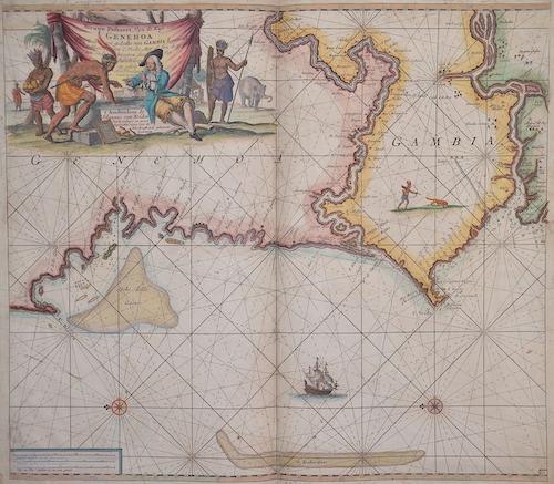 Keulen Johannes van Nieuve paskert, van de Kust van Genehoa als Mede en gedeelte van Gambia, beginnende an C. Blanco tot C. Verde …
